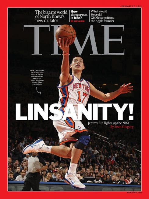 Jeremy Lin Time Magazine